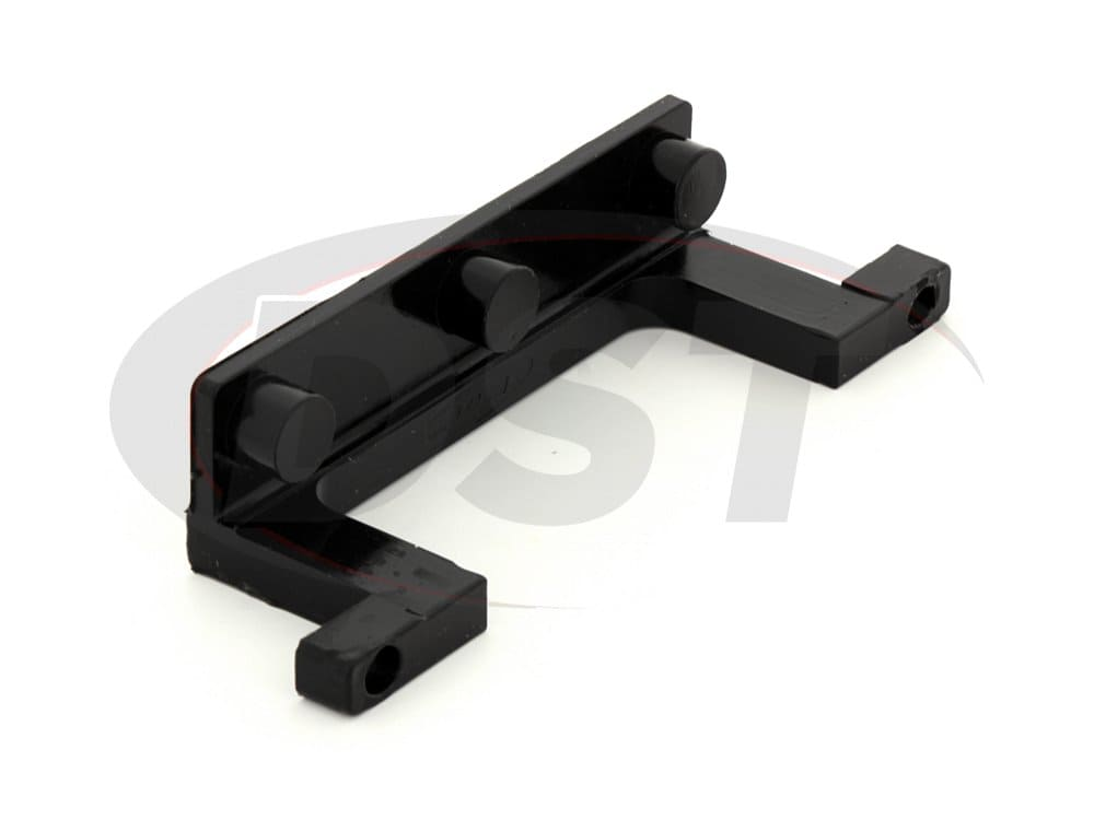ku70040bk License Plate Retainer Bracket - Black