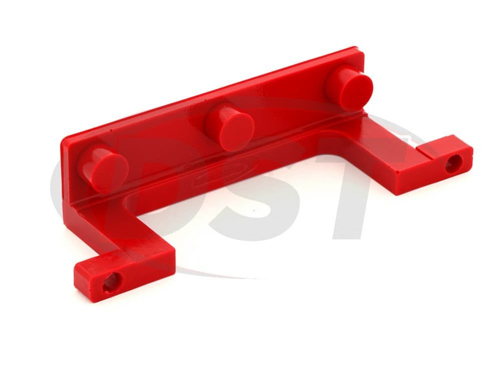 ku70040re License Plate Retainer Bracket - Red