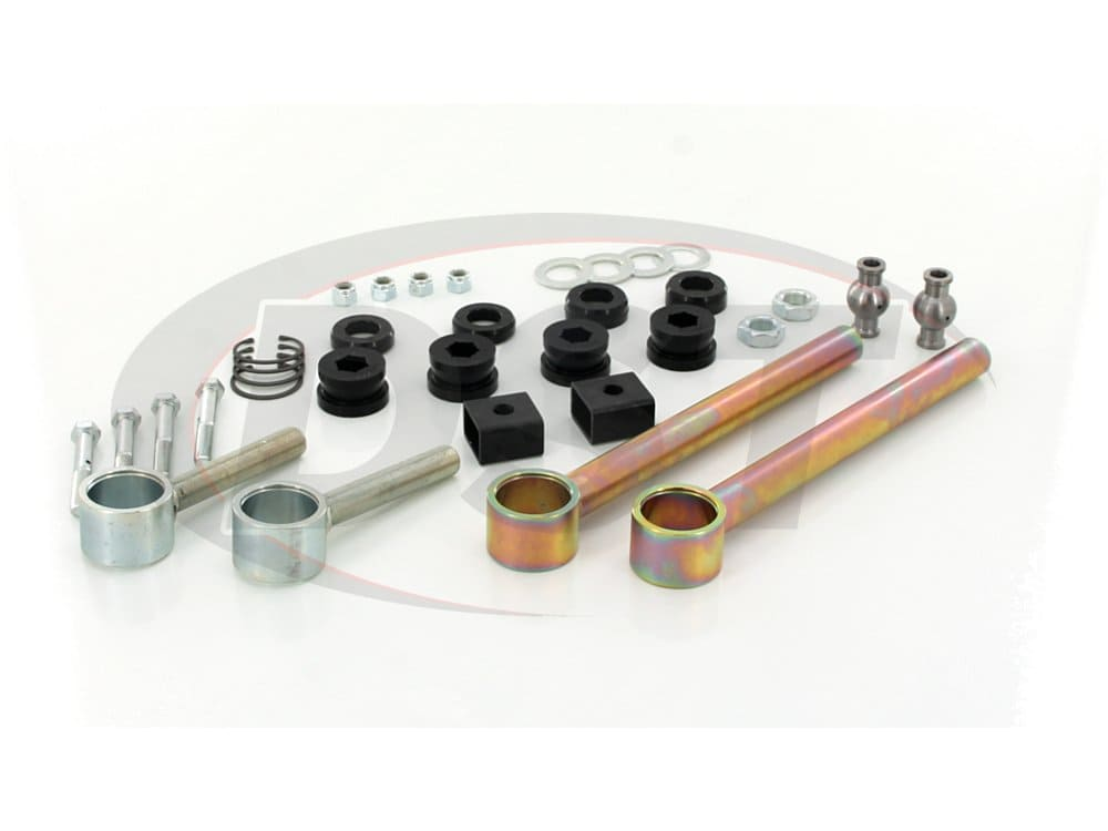 ku70085bk Rear Upper Control Arms - Adjustable - Discontinued by Daystar - While Supplies Last