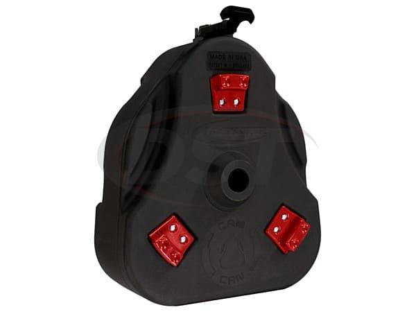 ku71131bk Cam Can Trail Box - Black