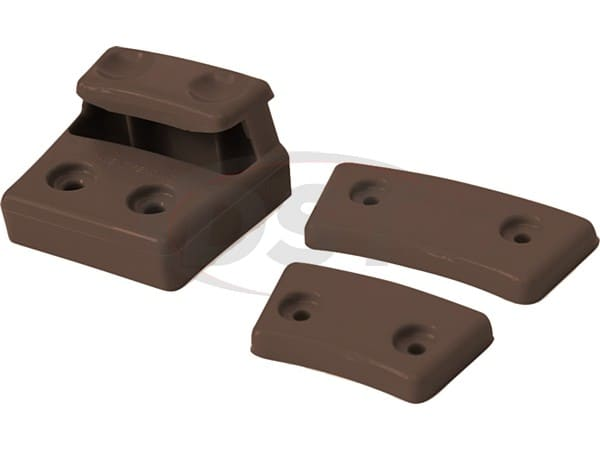 ku76148nl Cam Can Colored Replacement Cams - Natural Brown